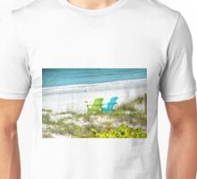 Green and Blue Chairs Unisex T-Shirt