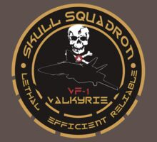 Skull Squadron Valkyrie Baby Tee