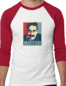 Groucho Marx-ism Men's Baseball ¾ T-Shirt