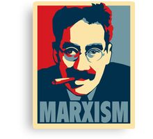Groucho Marx-ism Canvas Print
