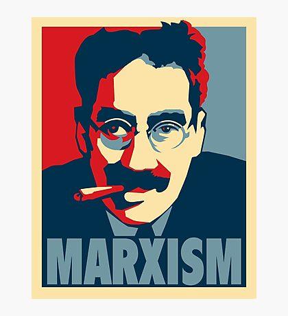 Groucho Marx-ism Photographic Print
