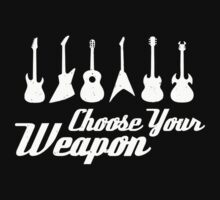 Choose Your Weapon Guitar One Piece - Long Sleeve