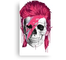 Bowie Skull Canvas Print