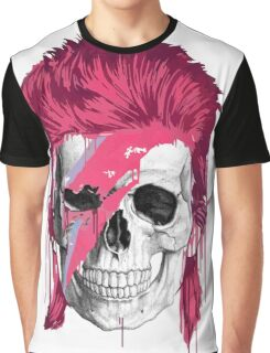 Bowie Skull Graphic T-Shirt