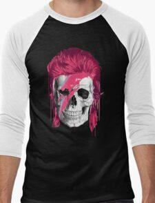 Bowie Skull Men's Baseball ¾ T-Shirt