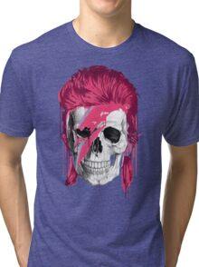 Bowie Skull Tri-blend T-Shirt