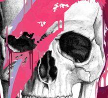 Bowie Skull Sticker