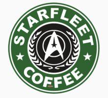 Star Fleet Coffee Kids Tee