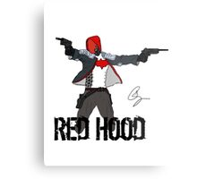 Arkham Knight Red Hood Metal Print
