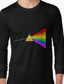 The dark side of Gravity falls  Long Sleeve T-Shirt