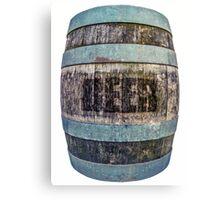 Beer Barrel Canvas Print