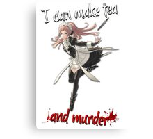 Fire Emblem Fates - Felicia (Tea & Murder) Canvas Print