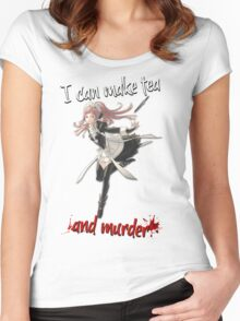 Fire Emblem Fates - Felicia (Tea & Murder) Women's Fitted Scoop T-Shirt