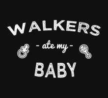 Walkers Ate My Baby Kids Tee