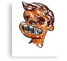 Orange boy Canvas Print