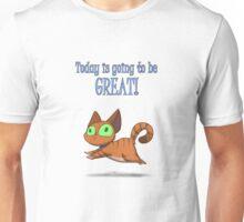 Optimistic Cat Unisex T-Shirt