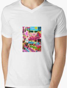 Welcome Hon Mens V-Neck T-Shirt