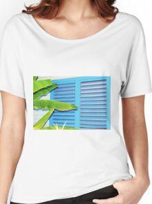 Tropical Shutters Women's Relaxed Fit T-Shirt