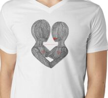 Strong Ties of Love Mens V-Neck T-Shirt