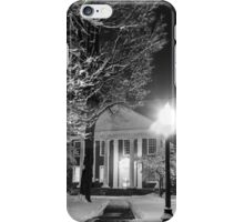 Winter Library iPhone Case/Skin