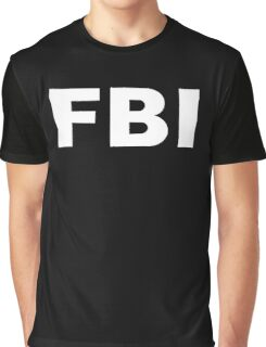 FBI Graphic T-Shirt