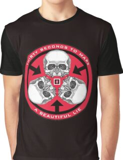 30 Seconds to Mars -2 Graphic T-Shirt