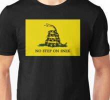 No Step on Snek Flag Unisex T-Shirt