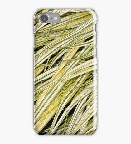 Golden Hakone Grass at Butchart Gardens iPhone Case/Skin