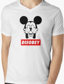FREAK disobey Mens V-Neck T-Shirt