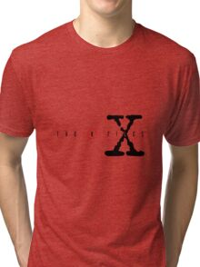 X files Tri-blend T-Shirt