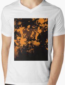 variations on orange - rorschach - modern chaos Mens V-Neck T-Shirt