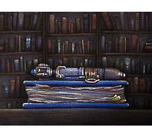 Doctor Who Silence Library Screwdriver Photographic Print