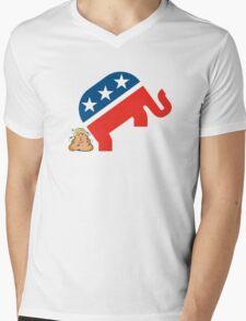 Trump dump Mens V-Neck T-Shirt
