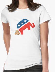 Trump dump Womens Fitted T-Shirt