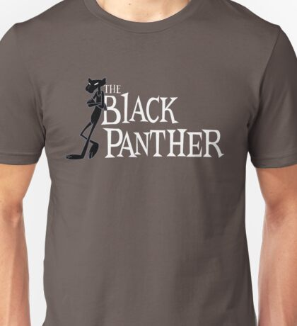 The Black Panther/Pink Panther Cross-over Unisex T-Shirt