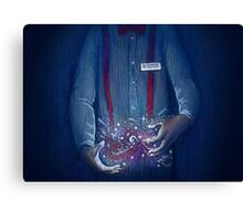 Dr Who Here to Help Canvas Print