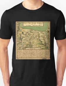 American Revolutionary War Era Maps 1750-1786 744 Plan of Fort William Henry and camp at Lake George Unisex T-Shirt
