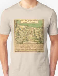 American Revolutionary War Era Maps 1750-1786 744 Plan of Fort William Henry and camp at Lake George T-Shirt