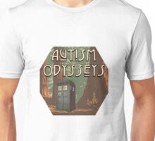 Autism Odysseys Tardis Inspired Logo Unisex T-Shirt