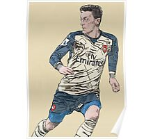 Mesut Ozil - Assist King Poster