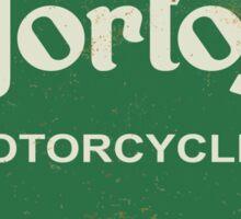 Norton parts, sales, service sign Sticker