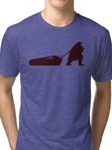 The D is silent Tri-blend T-Shirt