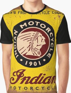 Indian Motorcycles Graphic T-Shirt