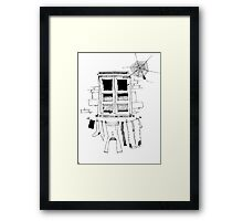 Countryside Wall Framed Print