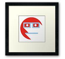 Mr. Geek Framed Print