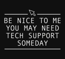 TECH SUPPORT PRINTED Kids Tee