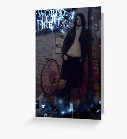 WORLD OF DREAMS - The Man With No Name / Director & writer Greeting Card