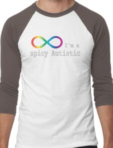 Spicy Autism Men's Baseball ¾ T-Shirt