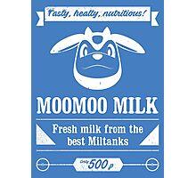 MooMoo Milk old ad Photographic Print