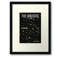 THE UNIVERSE⎜SPACE⎜TIME⎜SCIENCE Framed Print